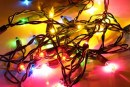 FIRE HAZARD OR ELECTRIC SHOCK: BE CAREFUL WITH OLD STRINGS OF LIGHTS